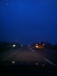 early morning driving